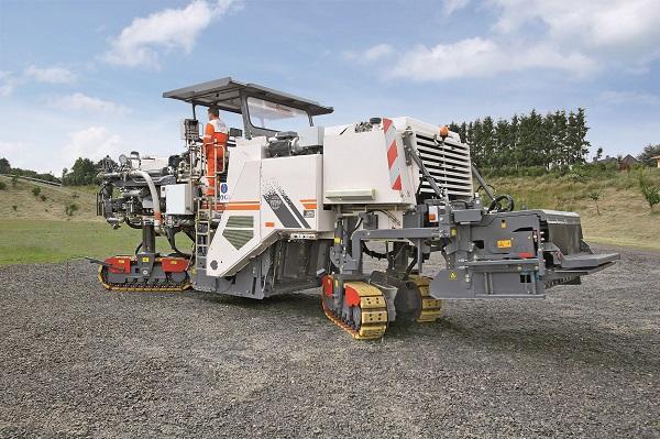 维特根2200 CR 履带式再生机高清图 - 外观