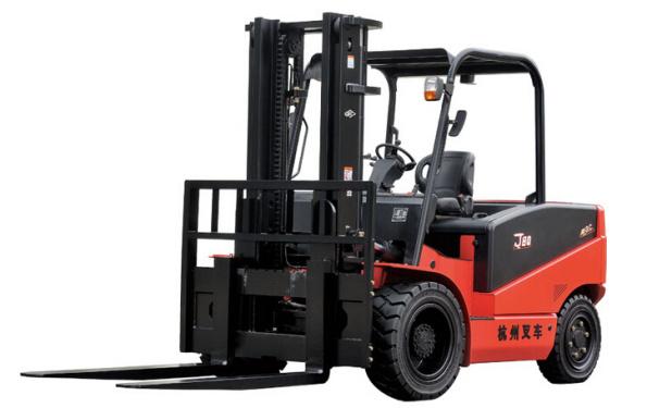 杭叉J系列5-8吨(四支点)电动平衡重式叉车