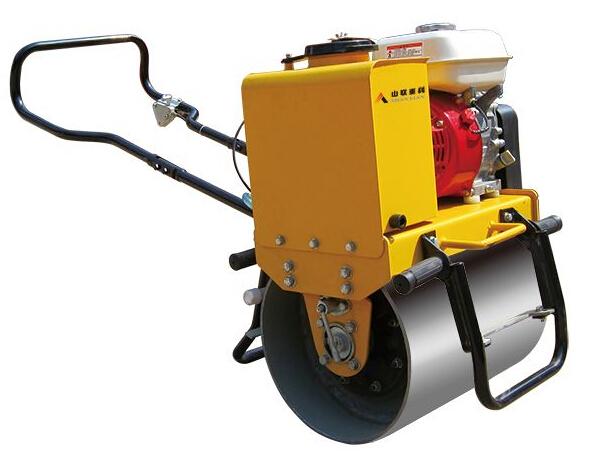 山联重科SLYL450手扶式单钢轮振动压路机高清图 - 外观