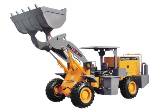 海麟重工小型装载机