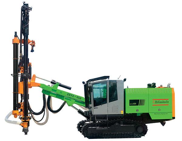 志高ZGYX-650全液压露天凿岩钻车高清图 - 外观