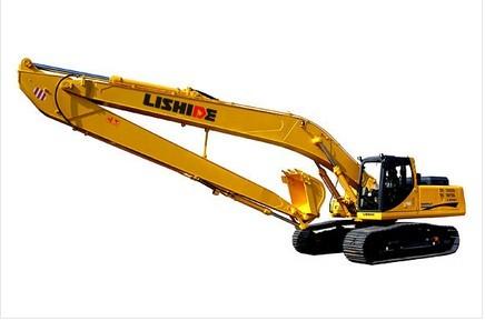力士德加长型工作装置挖掘机