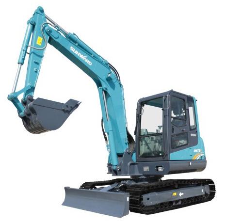 山河智能SWE70E小型挖掘机