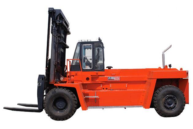 大连叉车FD280平衡重式内燃叉车(28-32吨)高清图 - 外观