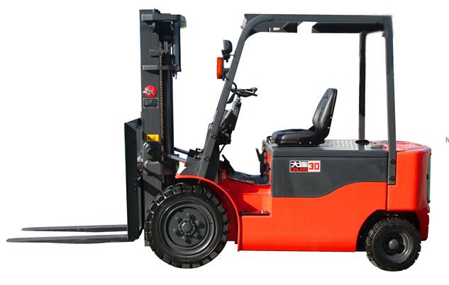 大连叉车CPD30HB蓄电池叉车(交流3吨)高清图 - 外观