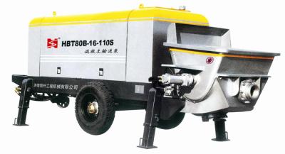恒升建机混凝土输送泵高清图 - 外观