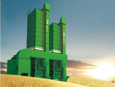 中联重机谷王5HX215D循环式谷物烘干机高清图 - 外观