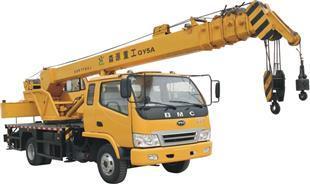 森源重工5吨汽车起重机