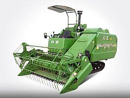中联重机谷王PQ25水稻收割机