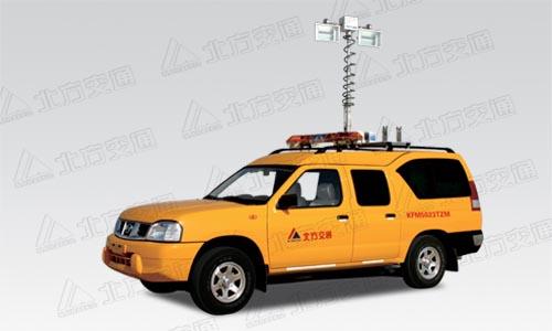北方交通KFM5023TZM照明车高清图 - 外观
