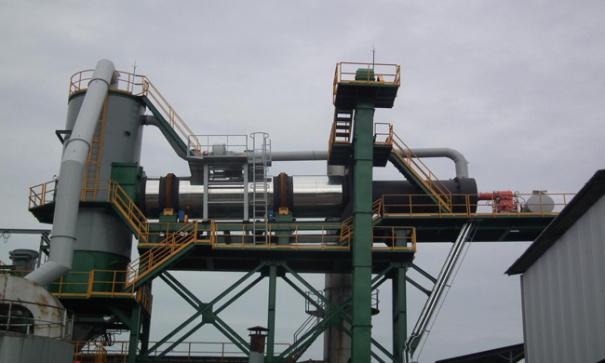 斯貝柯熱再生瀝青混凝土設備