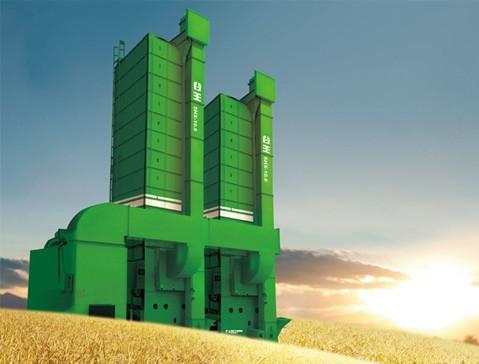 中联重机谷王5HX110循环式谷物烘干机高清图 - 外观