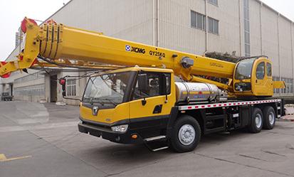 徐工QY25KQ(天然气型)汽车起重机
