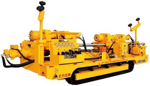 北方交通ZDY12000LF松软煤层超深孔定向钻机高清图 - 外观