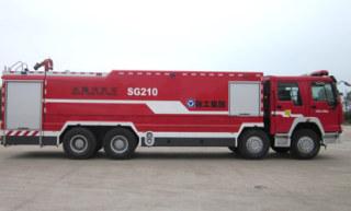 徐工SG210水罐消防车