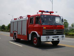 楚胜水罐消防车-EQ1141KJ-5000Kg