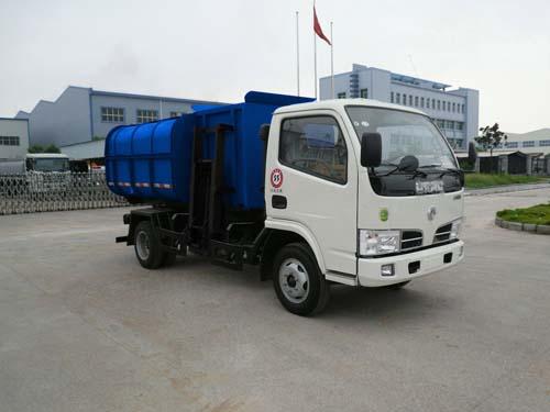 楚飞东风金霸(1.5吨)挂桶式(自装卸式)垃圾车高清图 - 外观