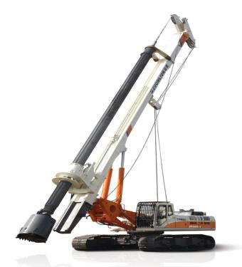 中联重科ZR250C旋挖钻机
