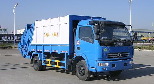 湖北合力东风多利卡压缩式垃圾车-EQ1081TJ12D1