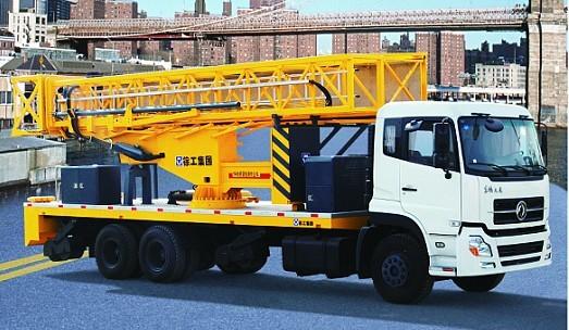 徐工XZJ5250JQJ14(14米)桁架式桥梁检测车高清图 - 外观