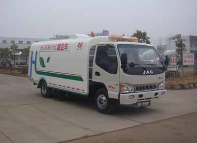 湖北合力神狐牌HLQ5061TXC型吸尘车高清图 - 外观