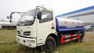 楚胜东风福瑞卡6.6吨洒水车