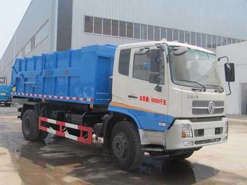 楚飞国四东风天锦(7吨)自卸式垃圾车