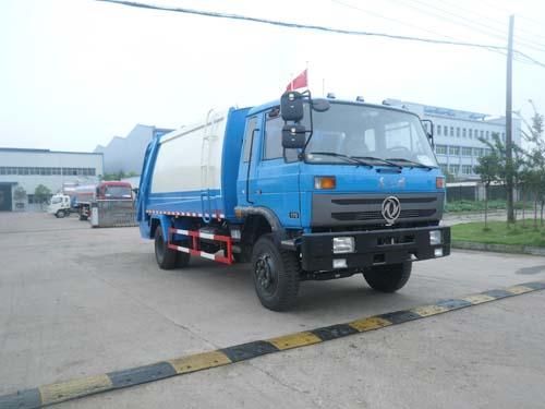 楚飞东风153(7.0吨)压缩式垃圾车高清图 - 外观