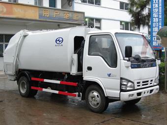 楚飞五十铃庆铃(2.8吨)压缩式垃圾车