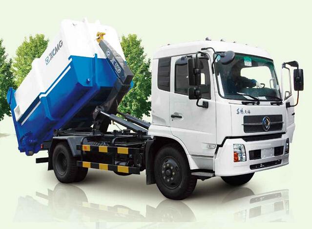徐工XZJ5160ZXXA4(14T)车厢可卸式垃圾车高清图 - 外观