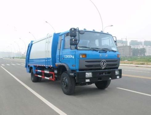 楚飞国四东风145(8-10立方)压缩式垃圾车