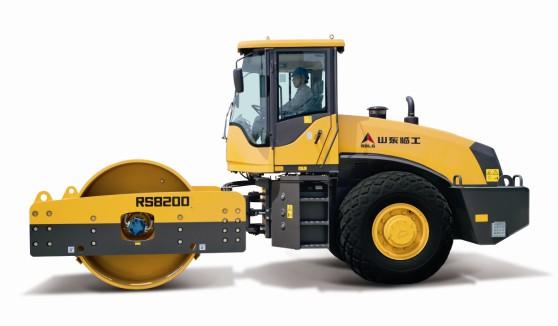 山东临工RS8200机械式单钢轮振动压路机高清图 - 外观