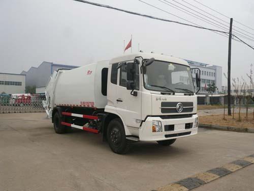 楚飞东风天锦(5.0吨)压缩式垃圾车