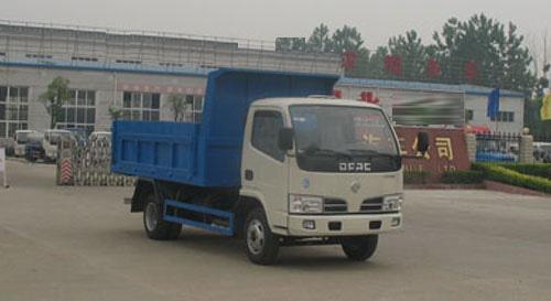 湖北合力自卸式垃圾车-EQ1060TJ20D3高清图 - 外观