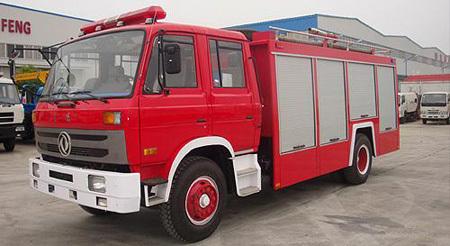 湖北合力东风153水罐消防车