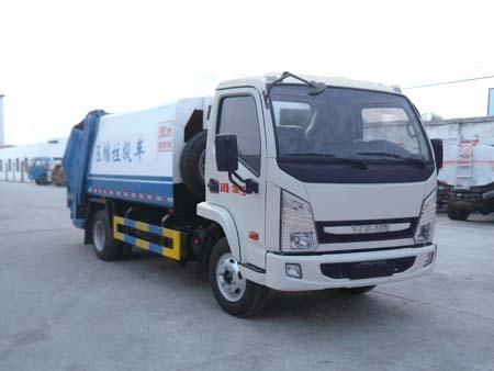 楚飞国四跃进(3吨/4立方)压缩式垃圾车