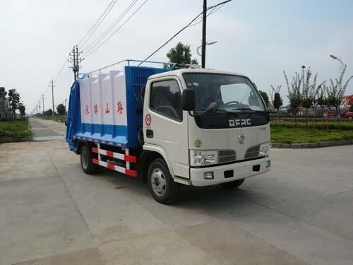 楚飞东风小霸王(1.7吨)压缩式垃圾车