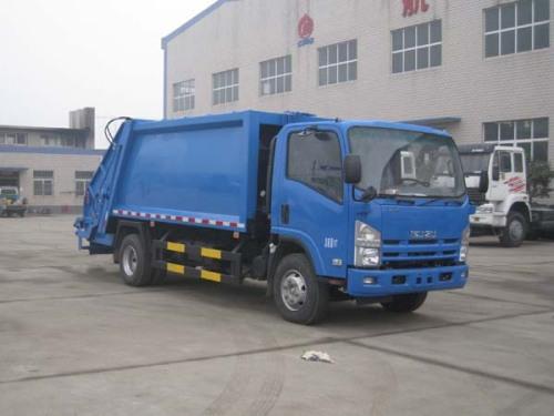 楚飞国四庆铃五十铃(3吨/4立方)压缩式垃圾车