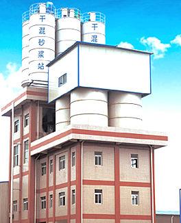 天沃重工TWSL60塔楼式干混砂浆搅拌站