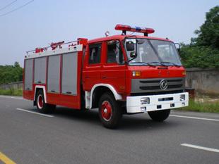 楚胜泡沫消防车-EQ1141KJ-5000Kg