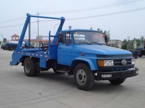 楚飞解放尖头(3.5吨)摆臂式垃圾车
