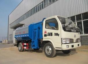楚飞国四东风福瑞卡自装卸式垃圾车高清图 - 外观
