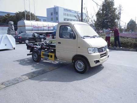 楚飞东风俊风(1.3吨)车厢可卸式垃圾车