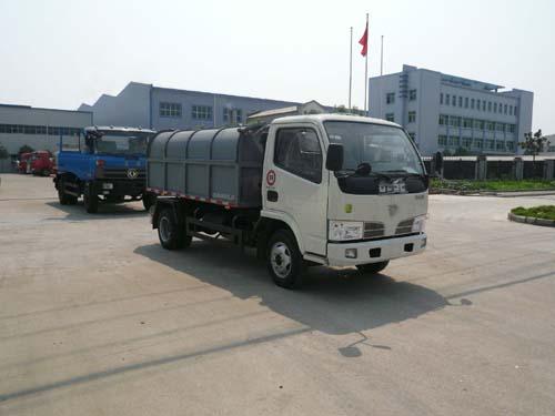 楚飞东风金霸(3.0吨)密封式垃圾车高清图 - 外观