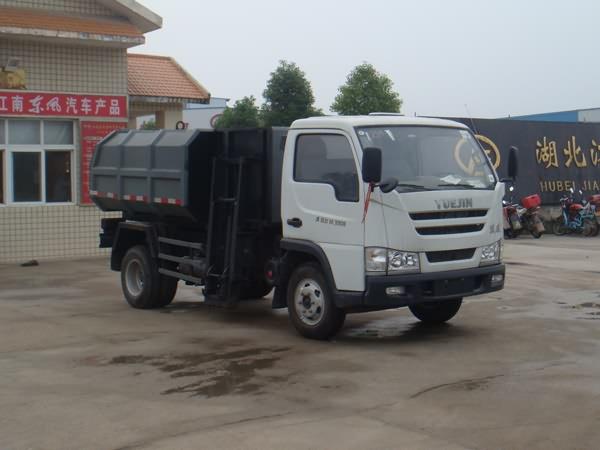楚飞跃进轻卡(1.1吨)自装卸式垃圾车高清图 - 外观