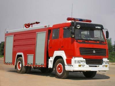 楚胜泡沫消防车-ZZ1166M4616C1