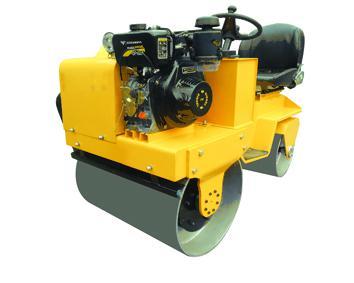 全工900座驾式压路机小型压路机高清图 - 外观