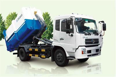 徐工XZJ5140ZXXD4(8-10T)车厢可卸式垃圾车高清图 - 外观