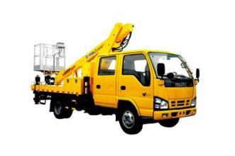 徐工XZJ5062JGKJ4(16米)伸缩臂高空作业车高清图 - 外观
