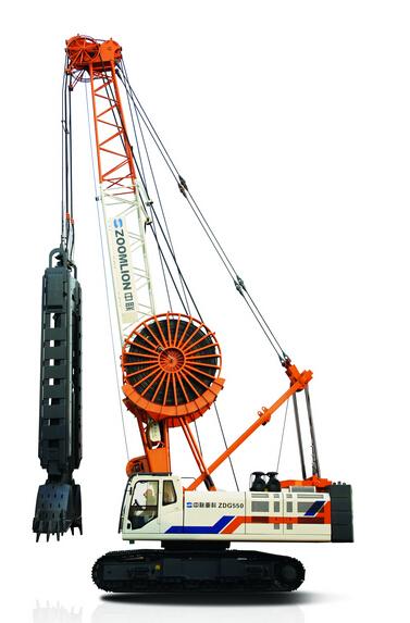 中联重科ZDG550A地下连续墙液压抓斗高清图 - 外观